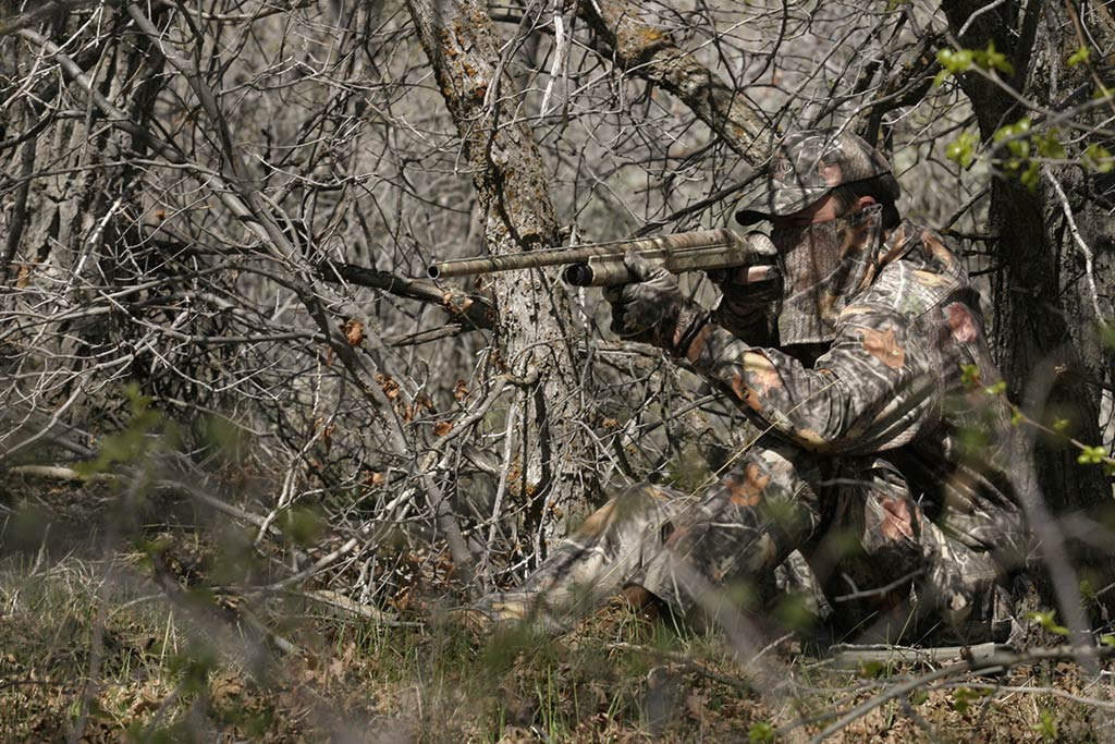 Turkey Hunting camouflage example