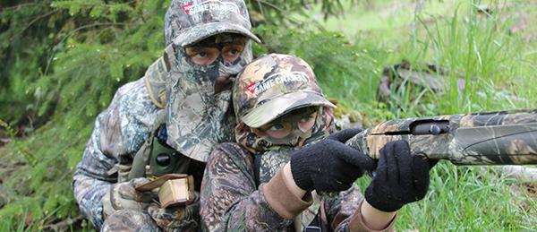 Turkey Hunting with kids